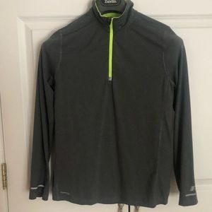 Russell -Boys-Training Fit 3/4 Zip Pullover